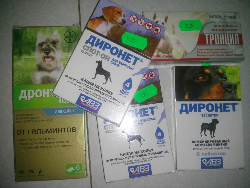 Препарат выпускается в суспензии и таблетках для кошек и собак