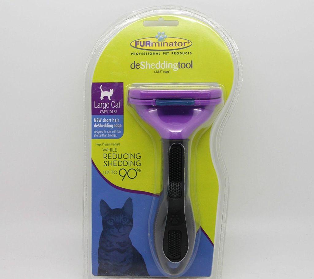 Фурминатор для кошек маленьких короткошерстных пород Short Hair Small