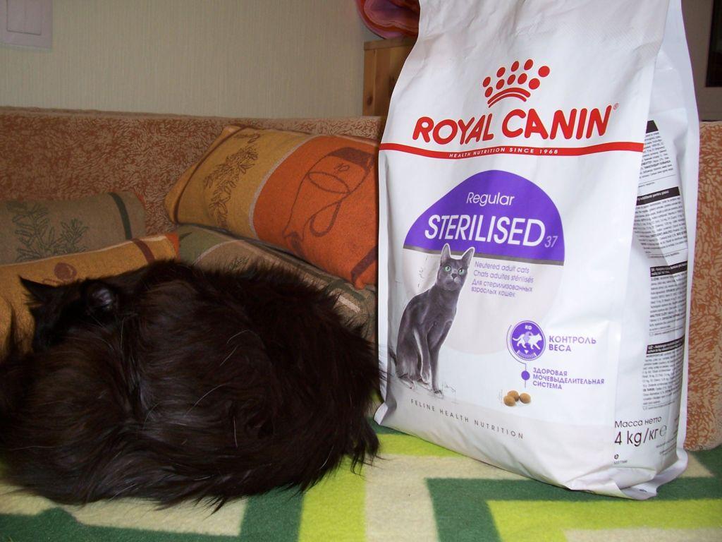 Royal Canin для взрослых стерилизованных кошек и котов