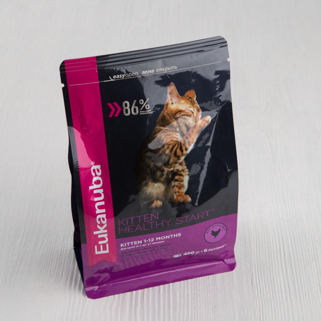 Корм для котов Eukanuba