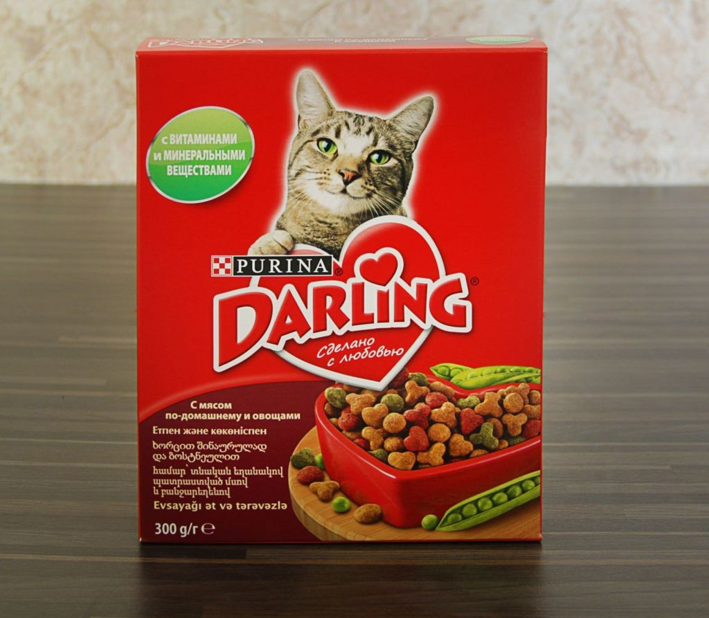 Сухой корм для котов Darling