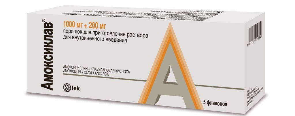 Антибиотик амоксиклав - первая помощь при цистите