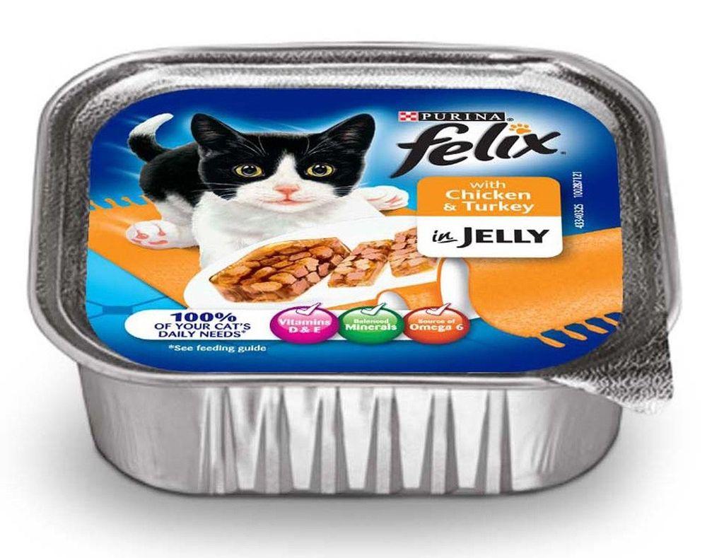 Подробное описание и состав кошачего корма Феликс