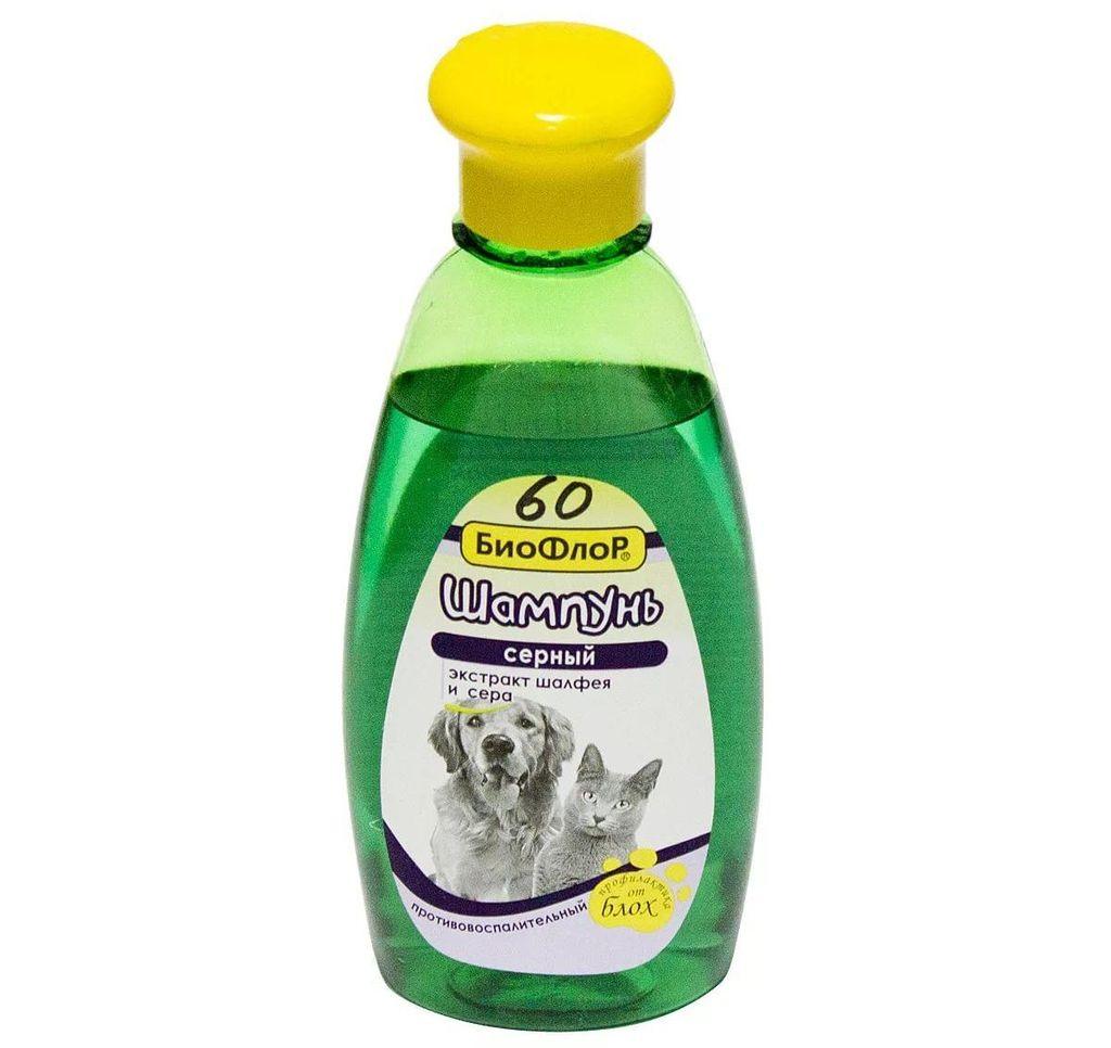 Биофлор - специальный шампунь для лечения перхоти у домашних животных