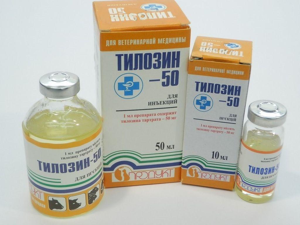 Инструкция по применению препарата тилозин в ветеринарии