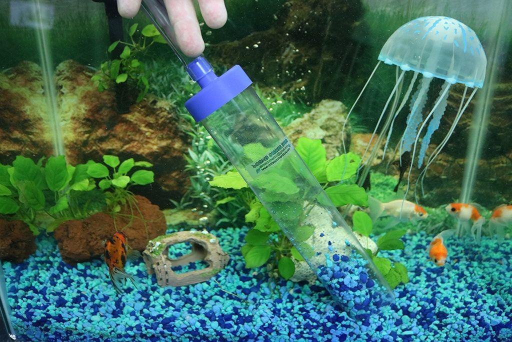 Что такое сифон для аквариума и как сделать своими руками