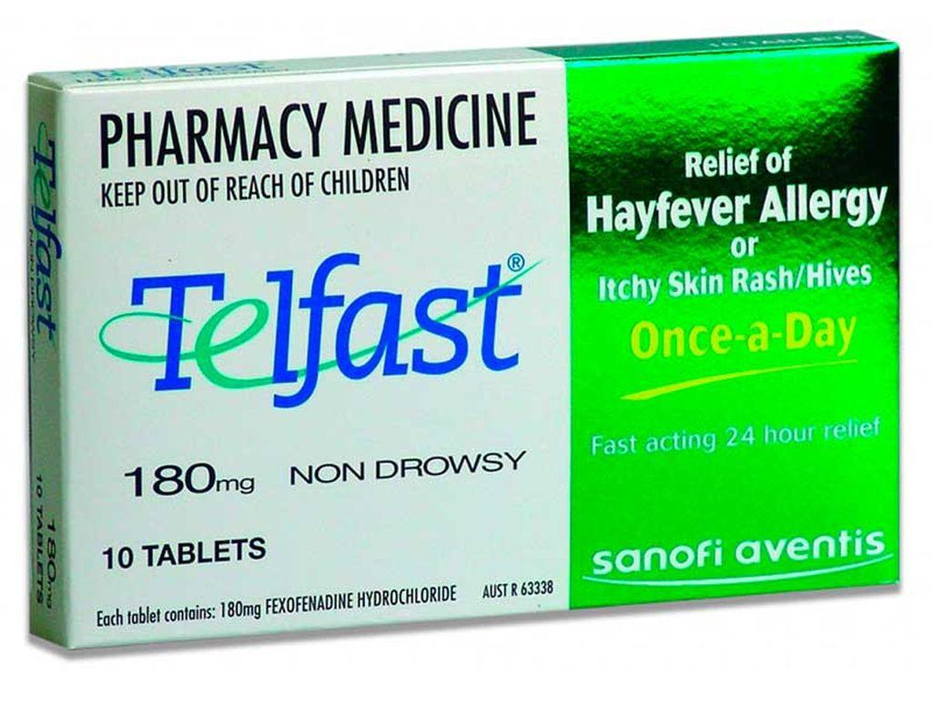 Телфаст - препарат третьего поколения