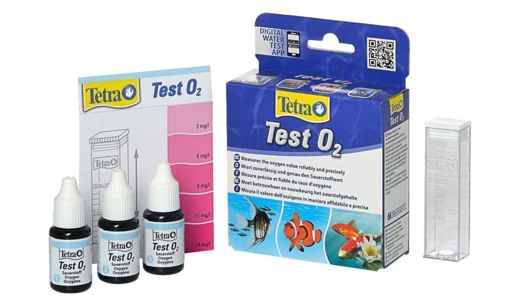 Tetra Test O2 (уровень содержания кислорода) аквариумной воды