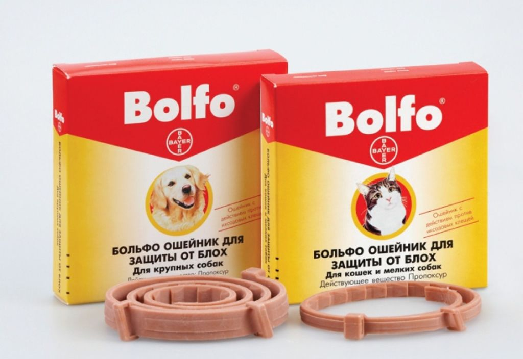 Ошейник от блох Bolfo с упаковкой