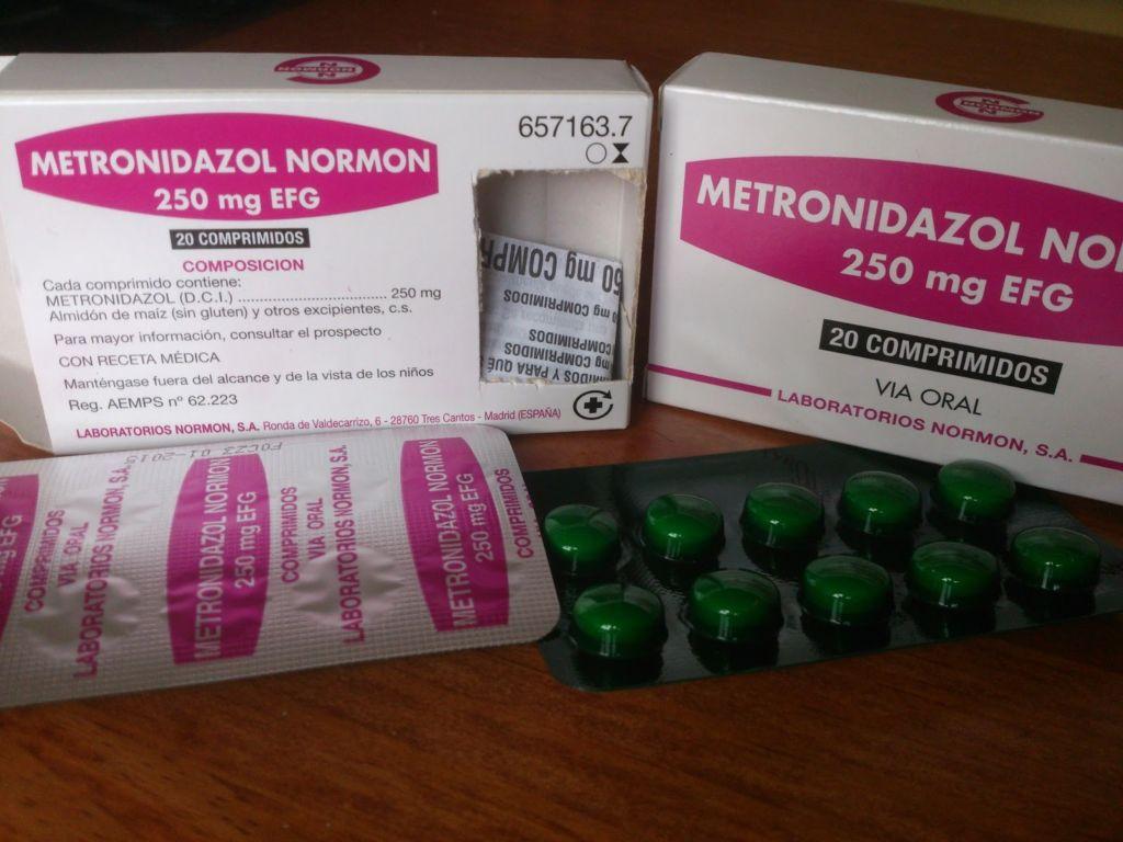 Побочные действия метронидазола