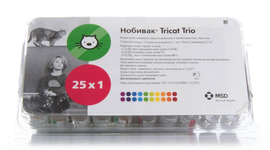 Аналогом Мультифела 4 является Nobivac Tricat Trio