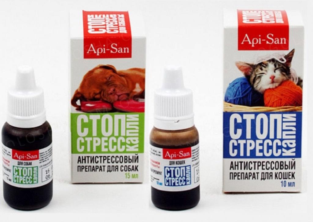 Подробная инструкция по применению препарата стоп стресс для кошек и собак