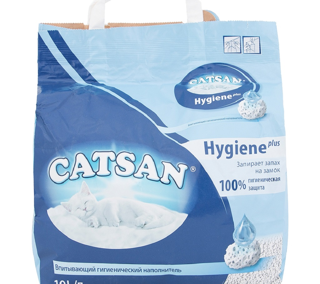Наполнитель Catsan для кошачьего туалета