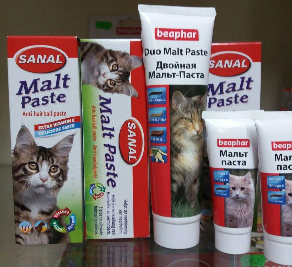 Мальтпаста для кошек