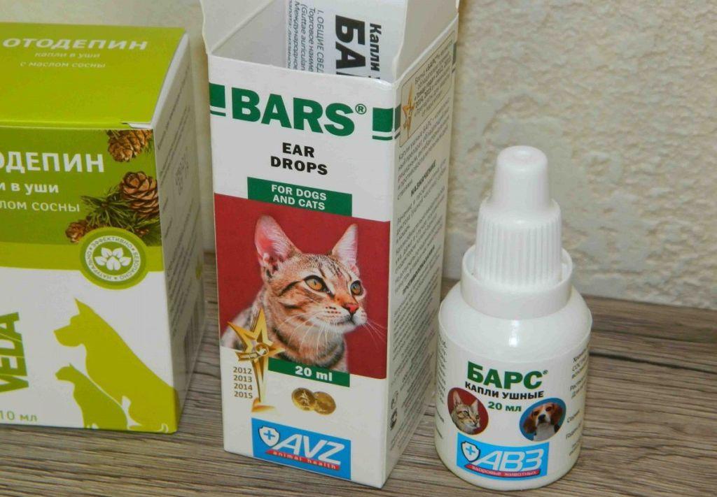 Средство барс – ушные капли для кошек, активные в отношении саркоптоидных клещей, которые являются возбудителями отодектоза кошек