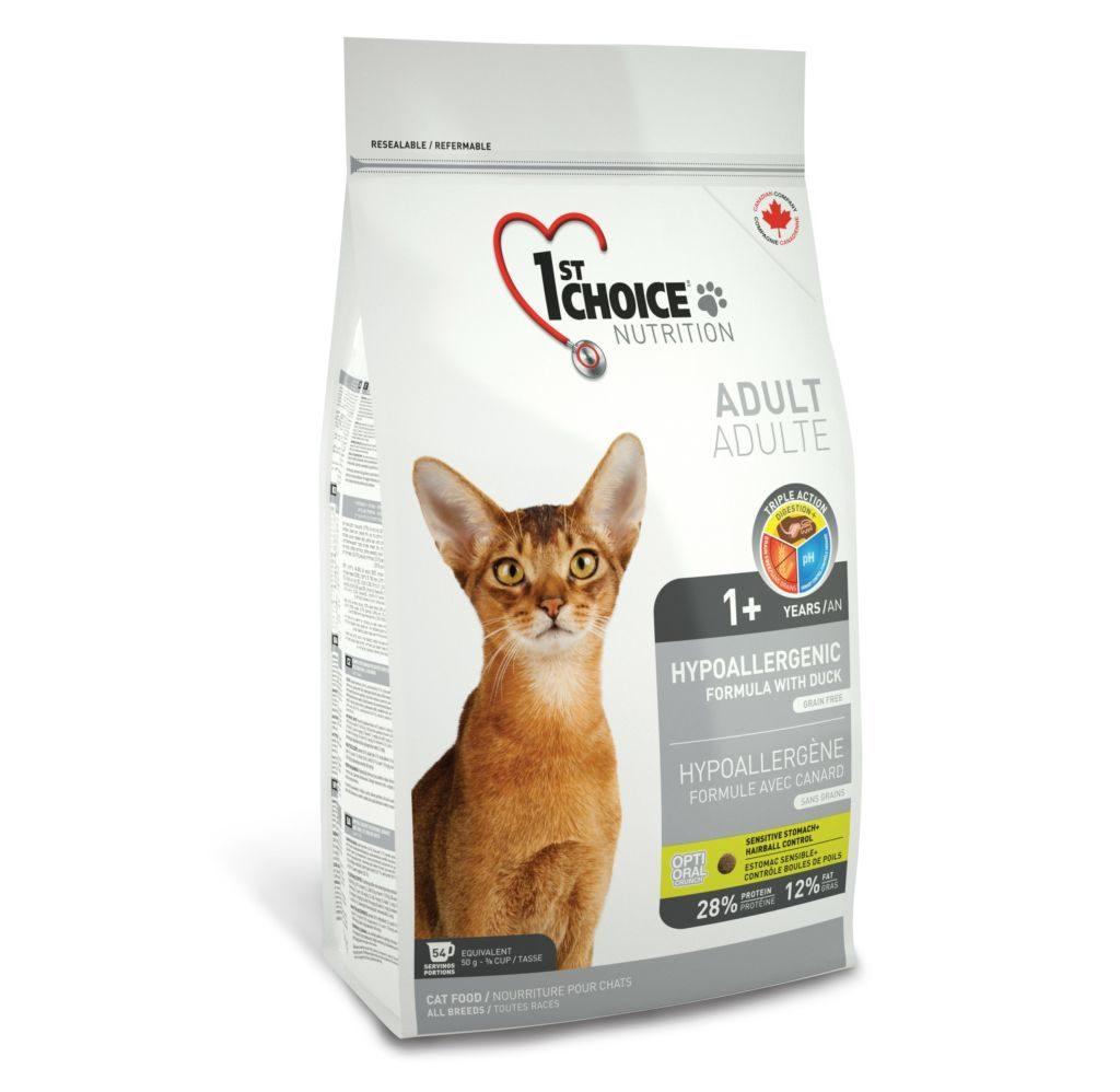 Корм для кошек 1st Choice