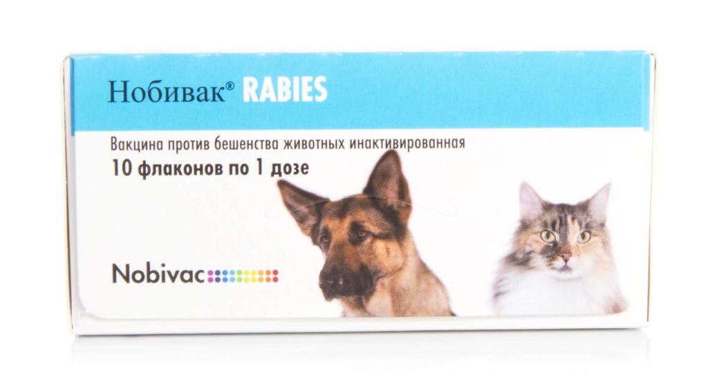 Нобивак рабиес - вакцина от бешенства