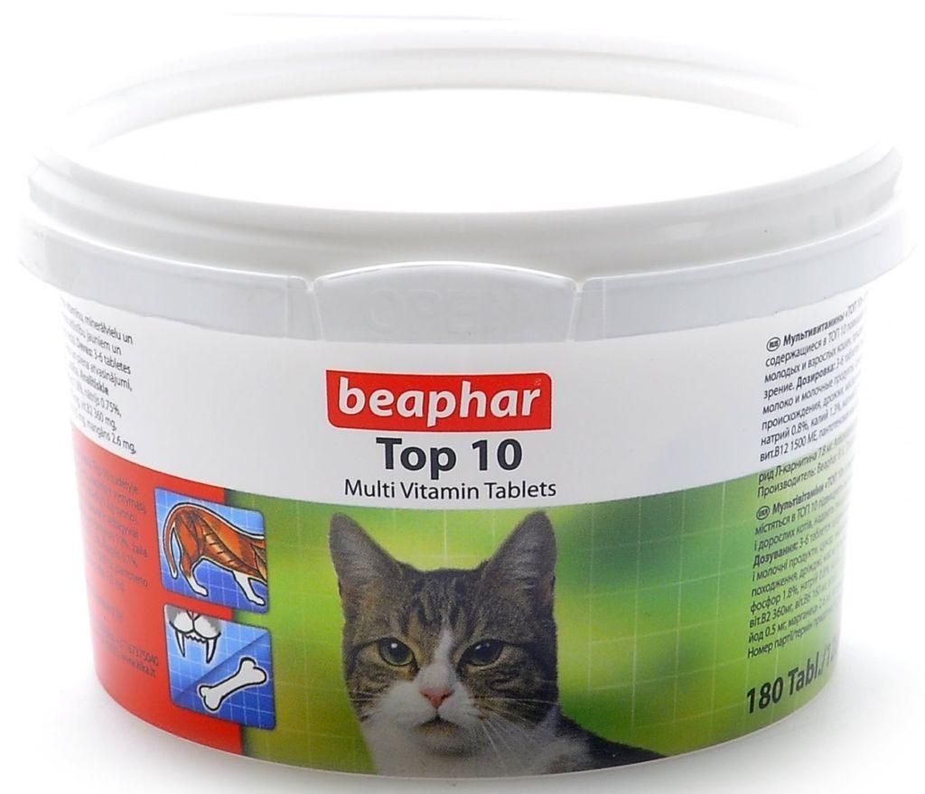 Коту необходимо регулярно давать витамины