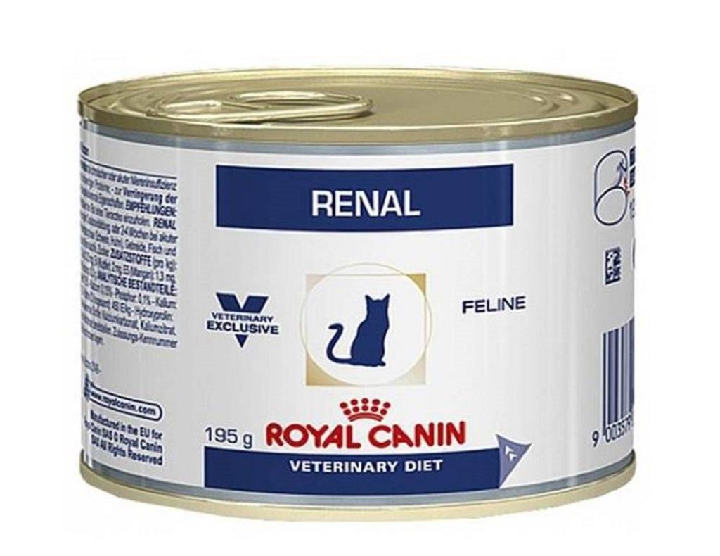 Royal Canin RENAL FELINE - влажный корм для кошек при хронической почечной недостаточности с курицей