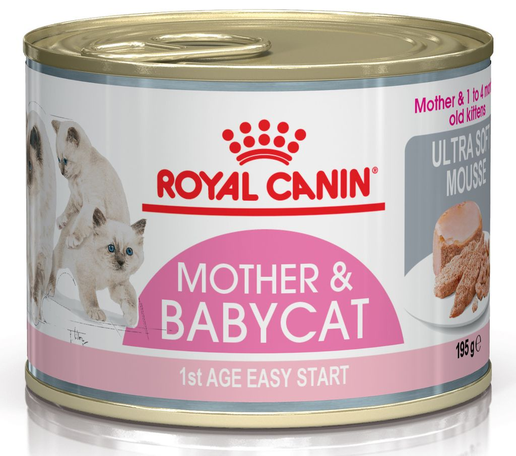 Royal Canin Babycat, богатый кальцием