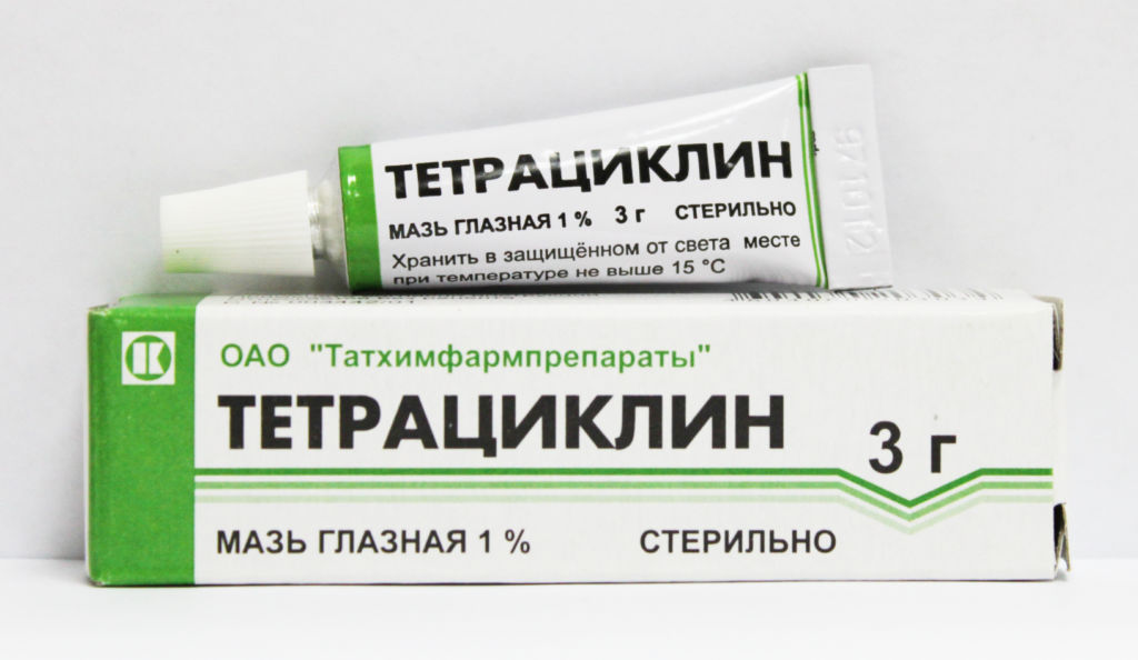Тетрациклин для наружного применения
