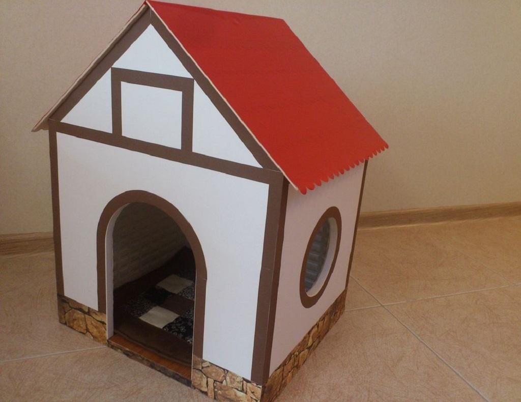 Как сделать домик для собаки своими руками