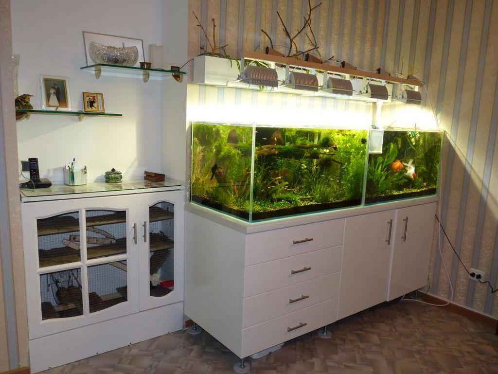 Подставка для аквариума обязательно должна быть прочной и устойчивой
