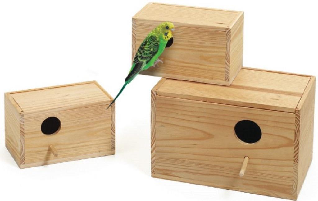 Как сделать домик-гнездо для волнистых попугаев своими руками