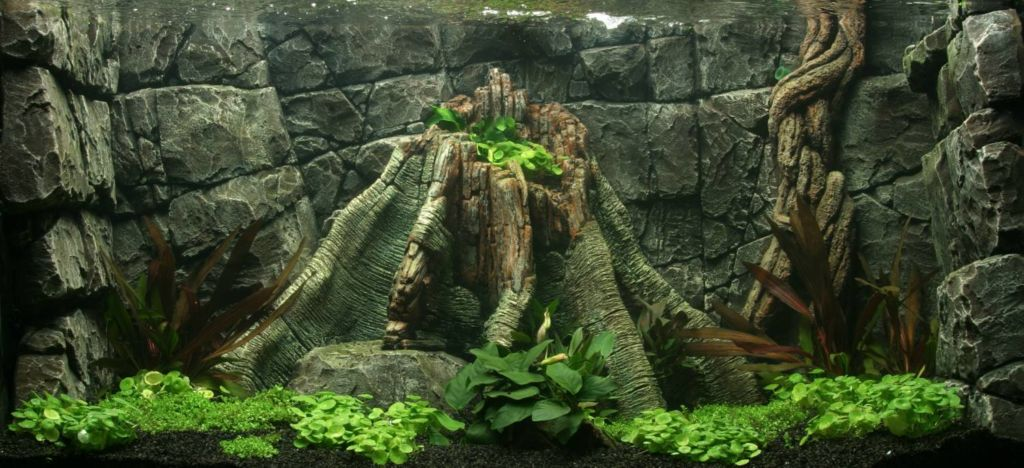 3Д Фон для аквариума