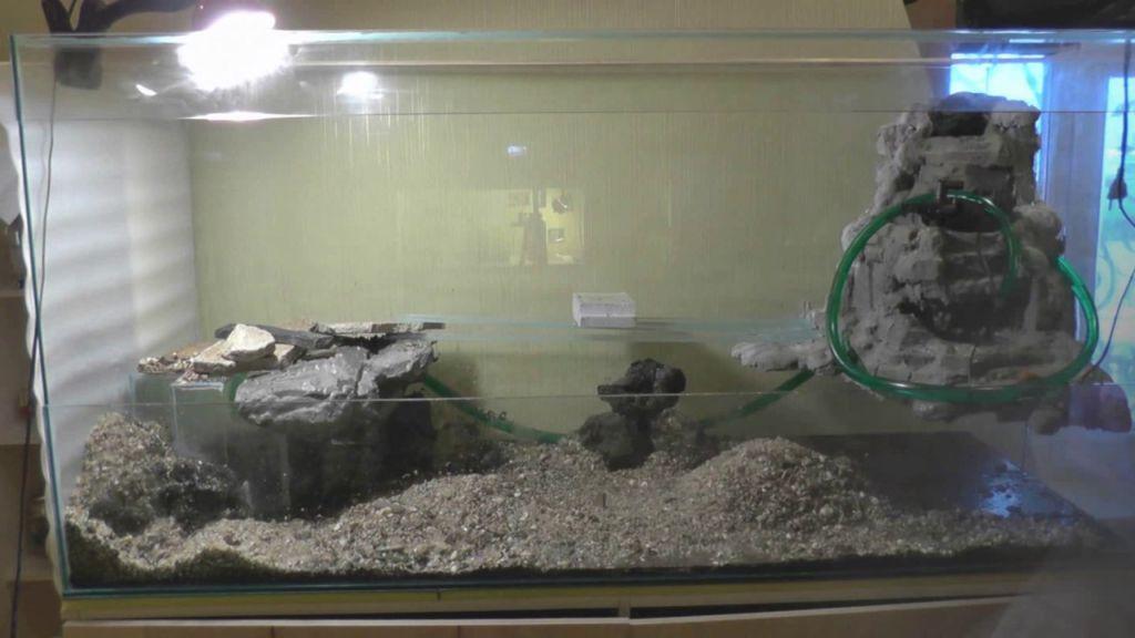 Грот для аквариума своими руками будет эксклюзивным и вечным